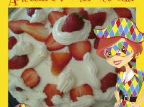 torttina di panna e fragole