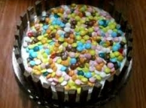 torta nutella e smarties