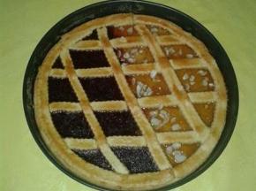 Crostata alle mandorle con marmellata di prugne ( di Sacre)