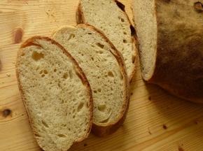 Ciabatta pane con l'aggiunta di farina di segale