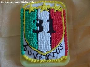 Torta scudetto Juventus 2012-2013