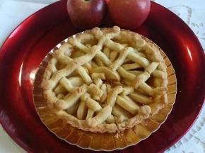 Crostata di mele in gabbia