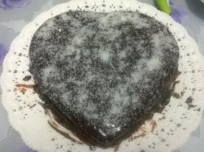 torta allo yogurt greco (con cocco e cioccolato.....)