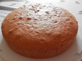 Pan di spagna con il lievito