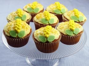 Cupcake mimosa per la Festa della Donna