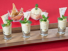 Chiacchiere finger food