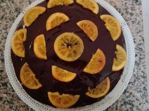 Torta arancia e cioccolato
