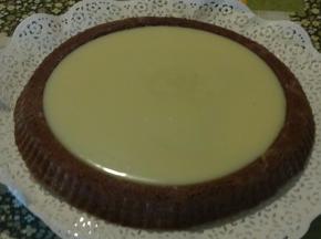 Torta al cioccolato bianco e nero