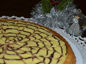 Crostata morbida sfiziosa con crema pasticciera