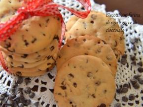 Biscotti con farina di riso senza glutine