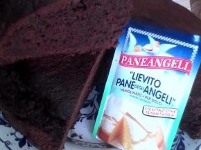 torta con farina di carrube e cioccolato