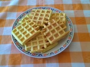 waffle (senza lievito)