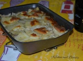 Parmigiana di patate e speck