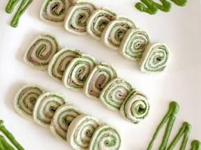 Rotolini di prosciutto cotto e spinaci