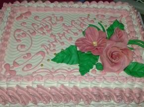 torte con fiori