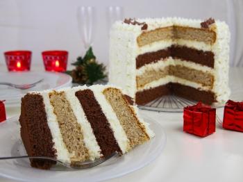 Torta cannella e cioccolato