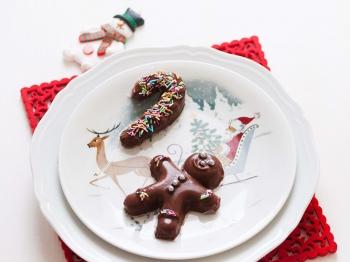 Budini natalizi con latte di cocco
