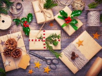 Pacchetti di Natale: tre idee originali per renderli unici