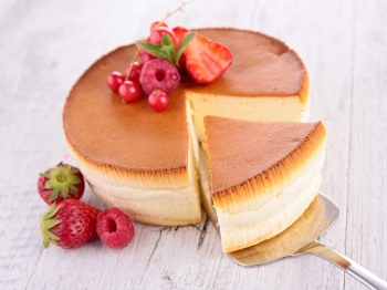 Cheesecake in stile giapponese: soffice come una nuvola
