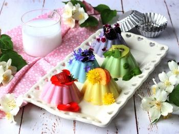 Mini budini colorati