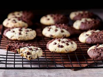 Cookies bicolori