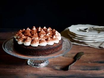 Torta Ciobar con crema al mascarpone