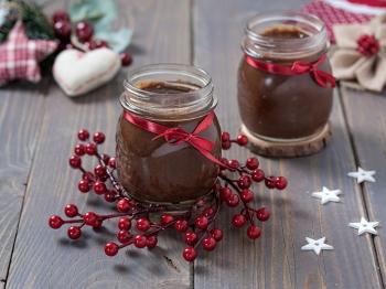 Confettura pere cioccolato e rum