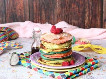 Pancakes arcobaleno