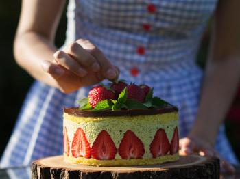 Un mondo di dolci con la frutta