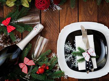 I piatti nel mondo che annunciano il Nuovo Anno