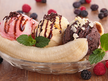"Il gusto ""made in USA"" del banana split"