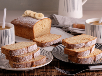 Banana bread senza glutine: ingredienti, preparazione e video ricetta del tipico dolce anglosassone