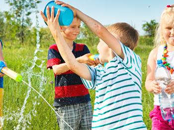 Estate: i giochi con l'acqua