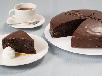 La mitica torta Sacher