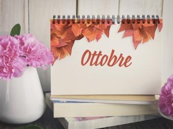 Appuntamenti di gusto per il mese di Ottobre!