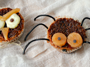 Cupcakes di Halloween: Ragnetto, gufetto o scherzetto?