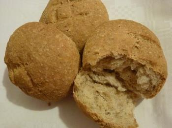 Panini con crusca di grano