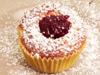 Cupcakes ai frutti rossi