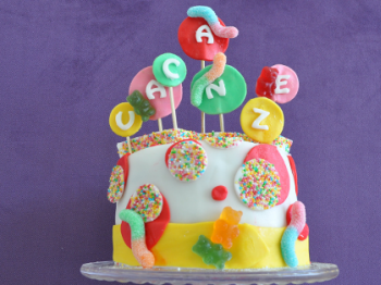 Candy cake per festeggiare le vacanze!