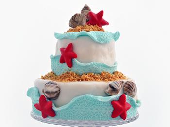 Torta marina per le feste estive
