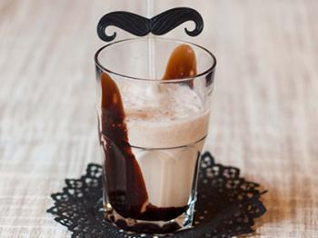 Milkshake con tocco al cioccolato