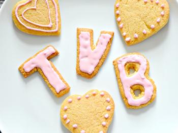 Lettere di biscotti