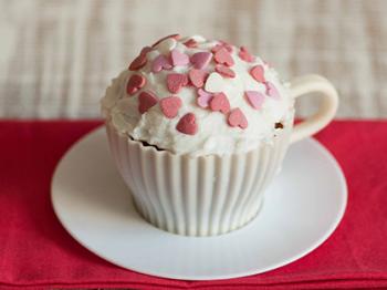 Cupcake al caffè con copertura al burro