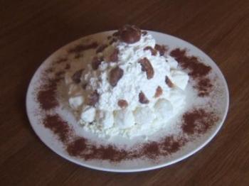 Mont blanc (con marronata)