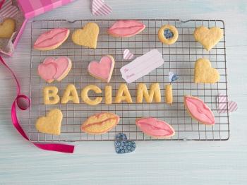 Biscotti per la Festa del Bacio
