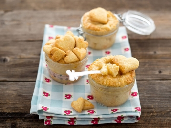 Apple pie in barattolo
