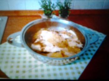 Filetti di sogliola con lattuga