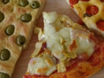 Focacce e pizza