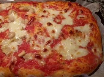 Pizza alta senza glutine