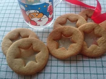 Biscotti vetrati (ricetta della REDAZIONE